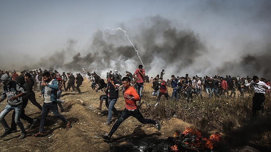 3 Warga Palestina Kembali Gugur dalam Aksi Great March of Return