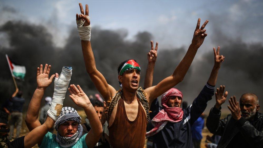 Sempat Terhenti Tiga Pekan, Warga Gaza Kembali Lakukan Aksi 'The Great March of Return'
