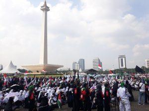 Seribu Penghafal Qur'an Ambil Bagian di Aksi Bela Baitul Maqdis
