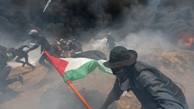 58 Warga Palestina Gugur dalam Aksi Protes Peresmian Kedutaan AS di Yerusalem