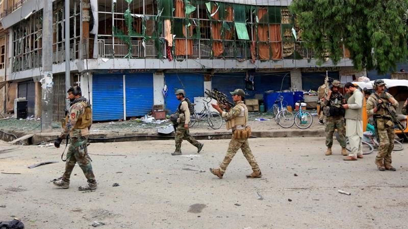 Serangan dari Segala Arah Taliban Bungkam Pasukan Bentukan AS-NATO di Kota Farah