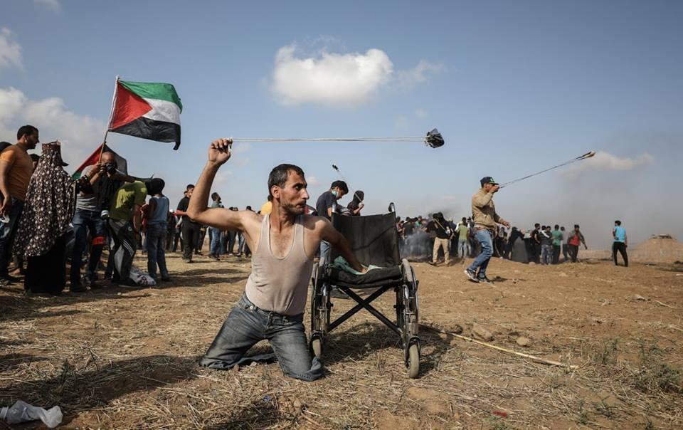 Fadi Abu Salah, Pejuang Difabel yang Gugur Oleh Sniper Penjajah Israel