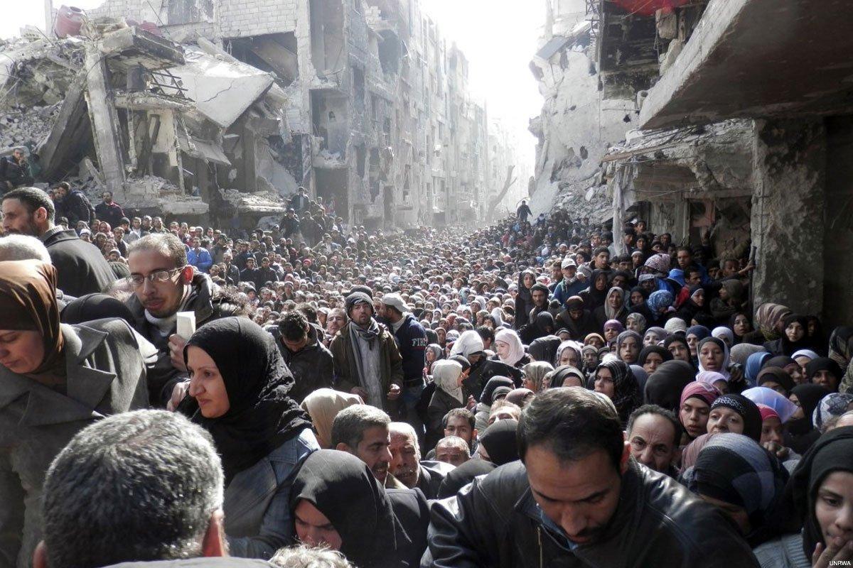 Sisa-sisa Milisi IS Tinggalkan Kamp Pengungsi Yarmouk Kemarin