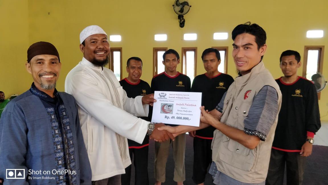Ansharusy Syariah Nusa Tenggara Salurkan Bantuan Untuk Palestina