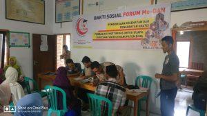 Ramadhan, Lembaga Kemanusiaan Forum Me-DAN NTB Kembali Gelar Baksos