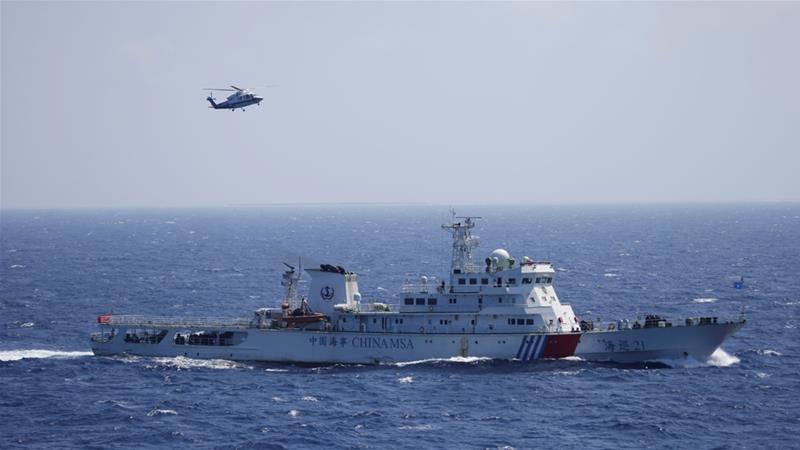 Kapal Perang AS Provokasi Teritorial Perairan China
