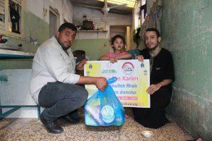 Muslimah Bima Peduli Berbagi Paket Ramadhan di Palestina