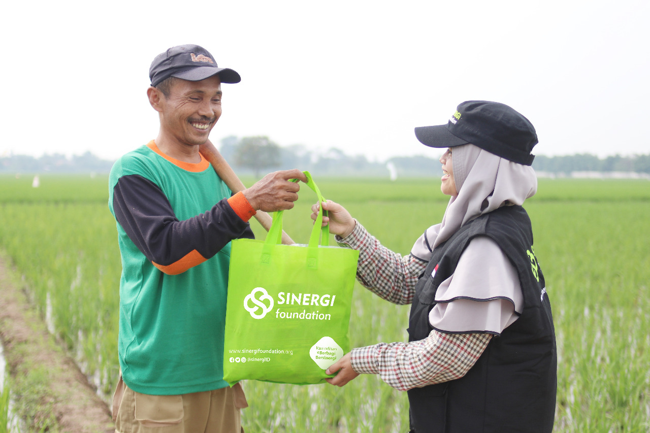Sinergi Foundation Ajak Masyarakat Sisihkan THR untuk Petani Dhuafa