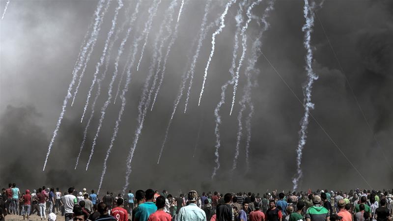Human Right Watch: Israel Gunakan Senjata Mematikan pada Rakyat Palestina