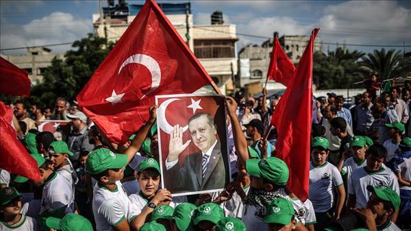 Rakyat Gaza Sambut Gembira Kemenangan Erdogan