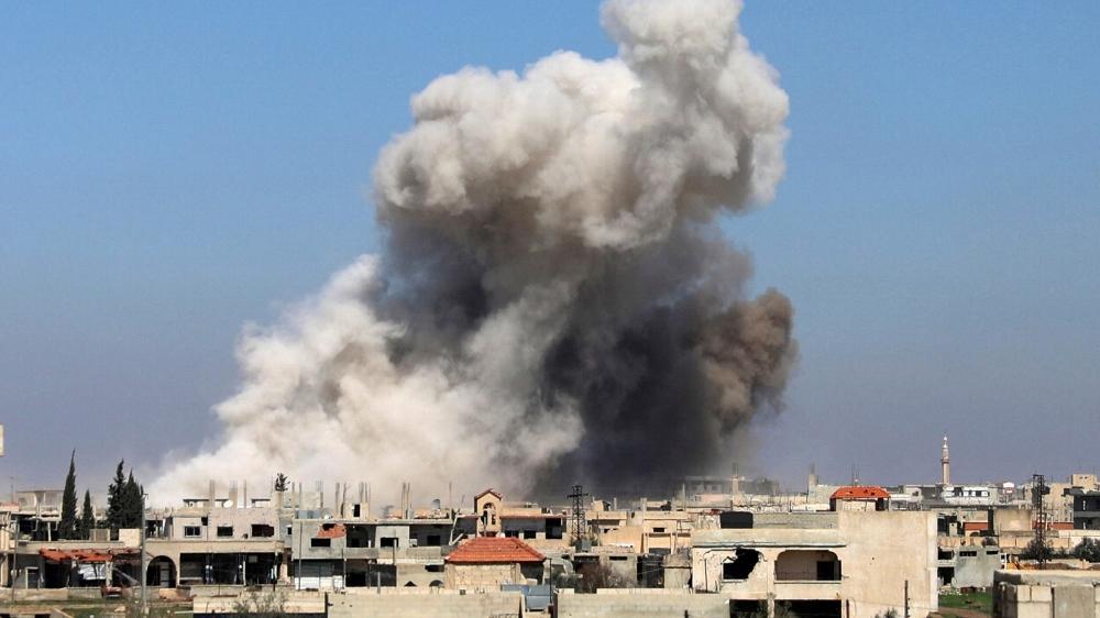 50.000 Warga Selatan Deraa Mengungsi Hindari Serangan Brutal Rezim Assad