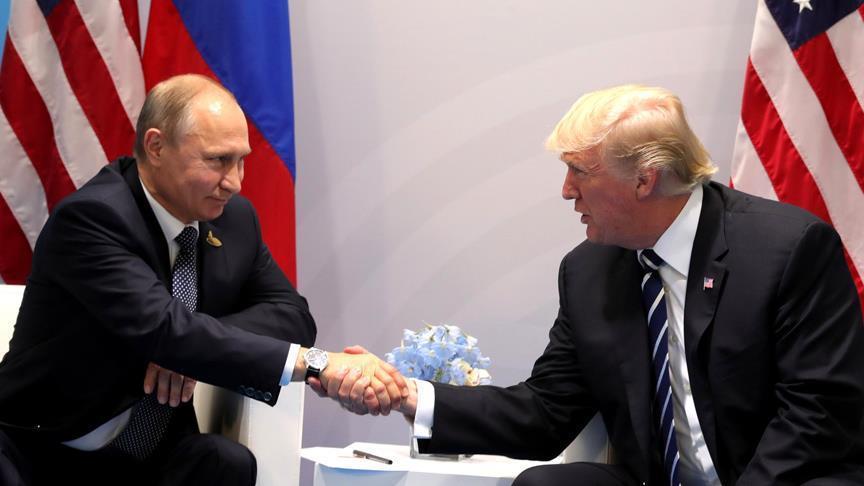 Trump dan Putin akan Bahas Suriah pada Pertemuan Puncak di Finlandia