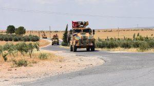 Armada Perang Turki Selesaikan Patroli Militer Keenam di Manbij