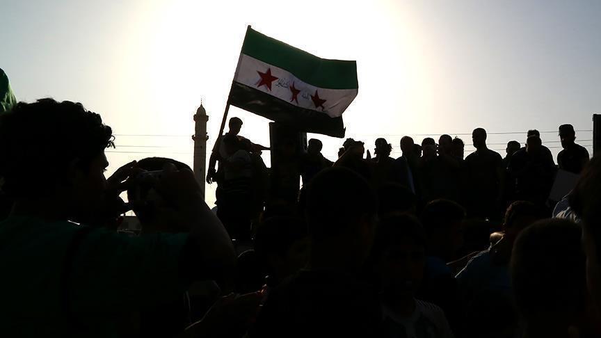Rezim Assad Kibarkan Bendera Suriah di Kota Deraa Setelah 7 Tahun Dikuasai Oposisi