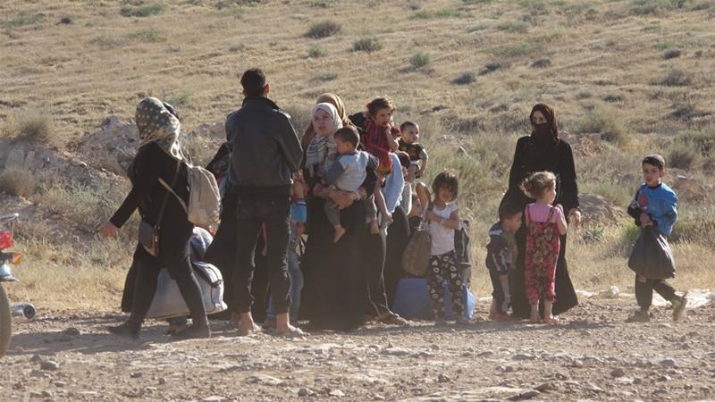 Sudah 270.000 Warga Daraa Mengungsi, Puluhan Ribu Terjebak di Perbatasan Jordania