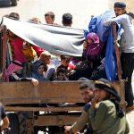 Pengungsi Warga Daraa Meningkat Hingga 320.000, Rusia Lanjutkan Negosiasi Hari Ini