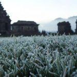 Suhu di Dieng Capai 10 Derajat Celcius, Embun Membeku