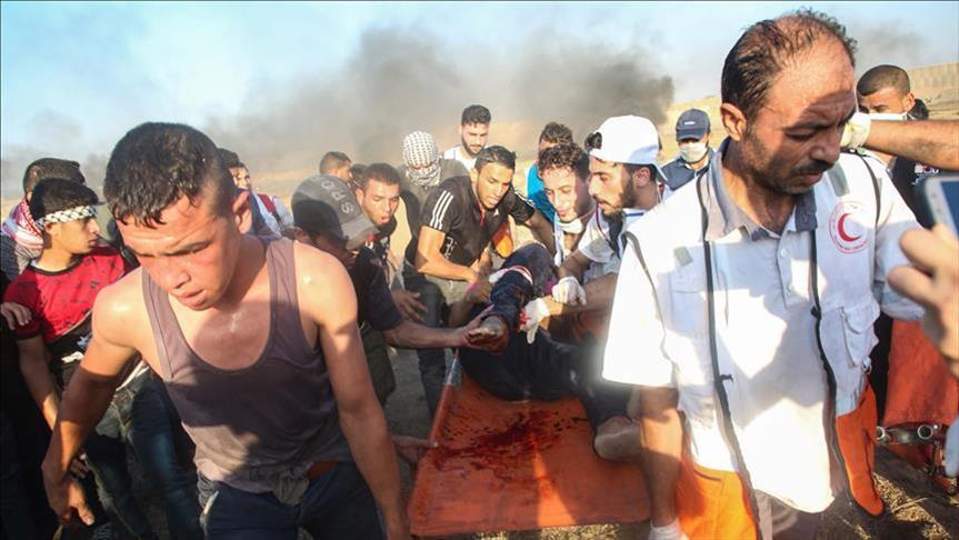 Pasukan Penjajah Israel Bunuh 1 Remaja Palestina dan Lukai 220 Saat Aksi Jumat