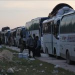 Konvoi 15 Bus Bawa Pejuang Anti Rezim Assad Tinggalkan Daraa
