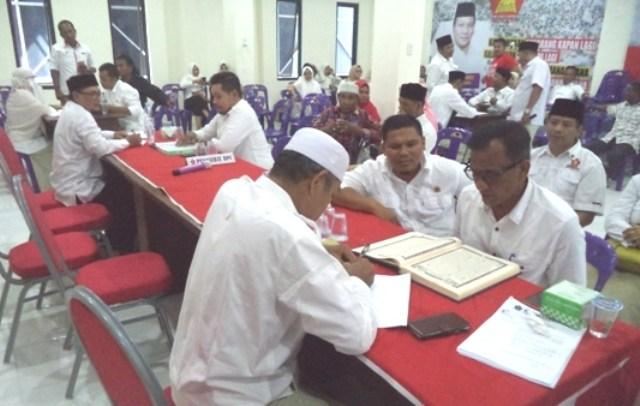 Kota Lhokseumawe Adakan Tes Kemampuan Baca Al-Qur'an Bacaleg
