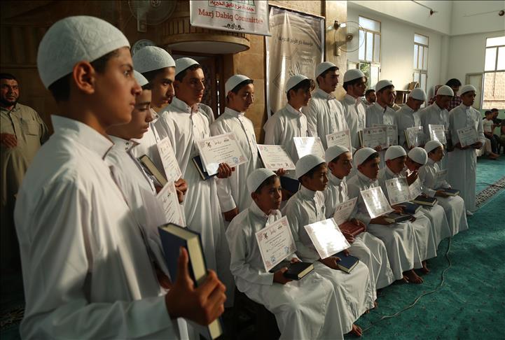 19 Anak Ghouta Timur Terima Sertifikat Hafal Al Quran