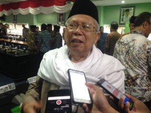 KH Ma'ruf Amin Sebut Idul Fitri Momen Persatuan dan Lupakan Perbedaan Pemilu