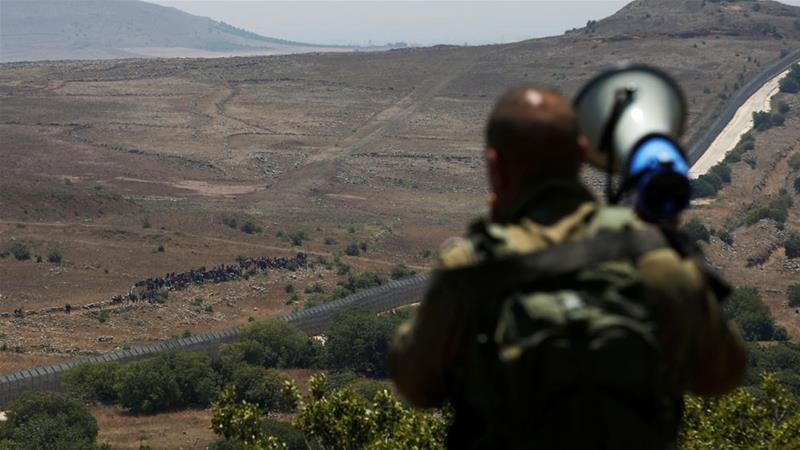 Terkepung Pasukan Assad, Puluhan Pengungsi di Perbatasan Israel Diusir Serdadu Zionis