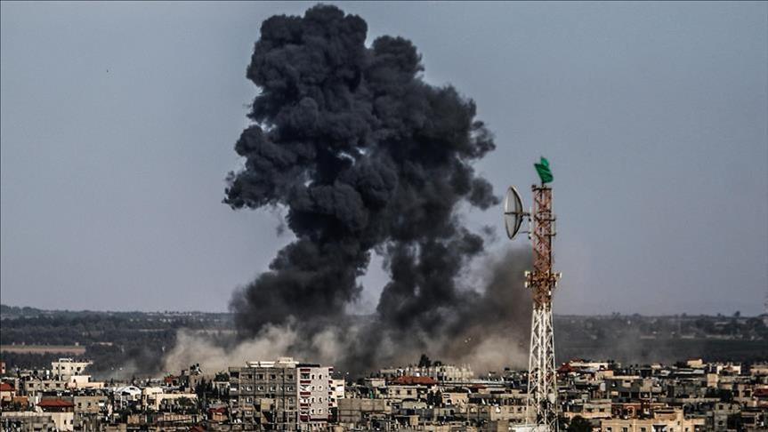 Serangan Udara Israel Dibalas Tembakan Mortir dari Gaza