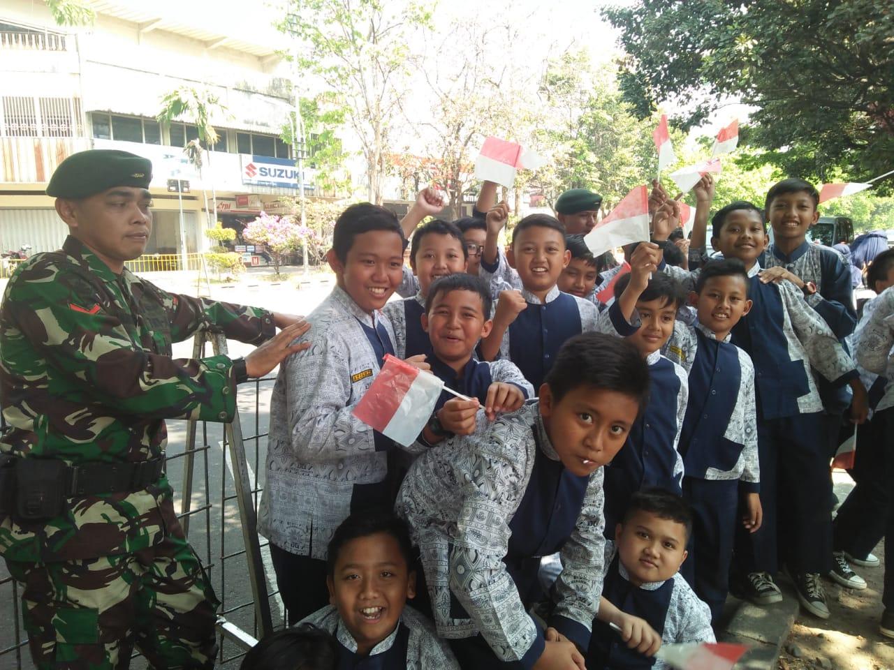 Ratusan Siswa Solo Meriahkan Asian Games