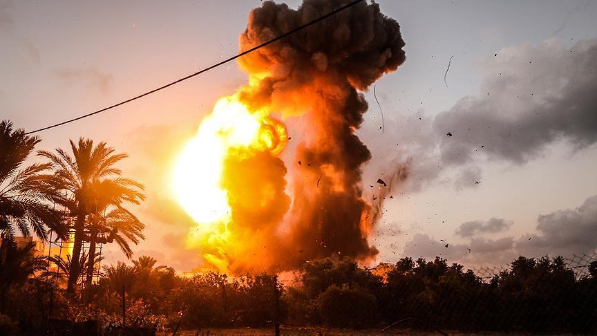 Artileri Israel Targetkan 7 Pos Militer Afiliasi Hamas