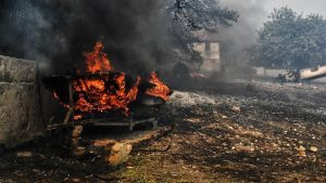 Korban Kebakaran Yunani Meningkat 81 Orang Tewas dan 164 Hilang