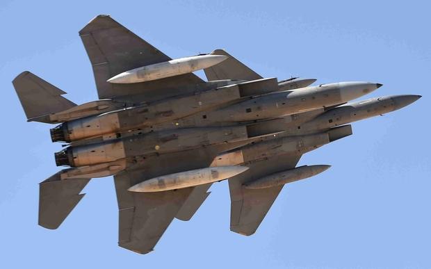 Jet Tempur Koalisi Arab Gempur Hodeidah, Setelah Drone Syiah Houthi Serang Abu Dhabi