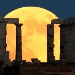 Seluruh Dunia Alami Gerhana Bulan Terlama Abad 21, Gerhana Bulan Darah