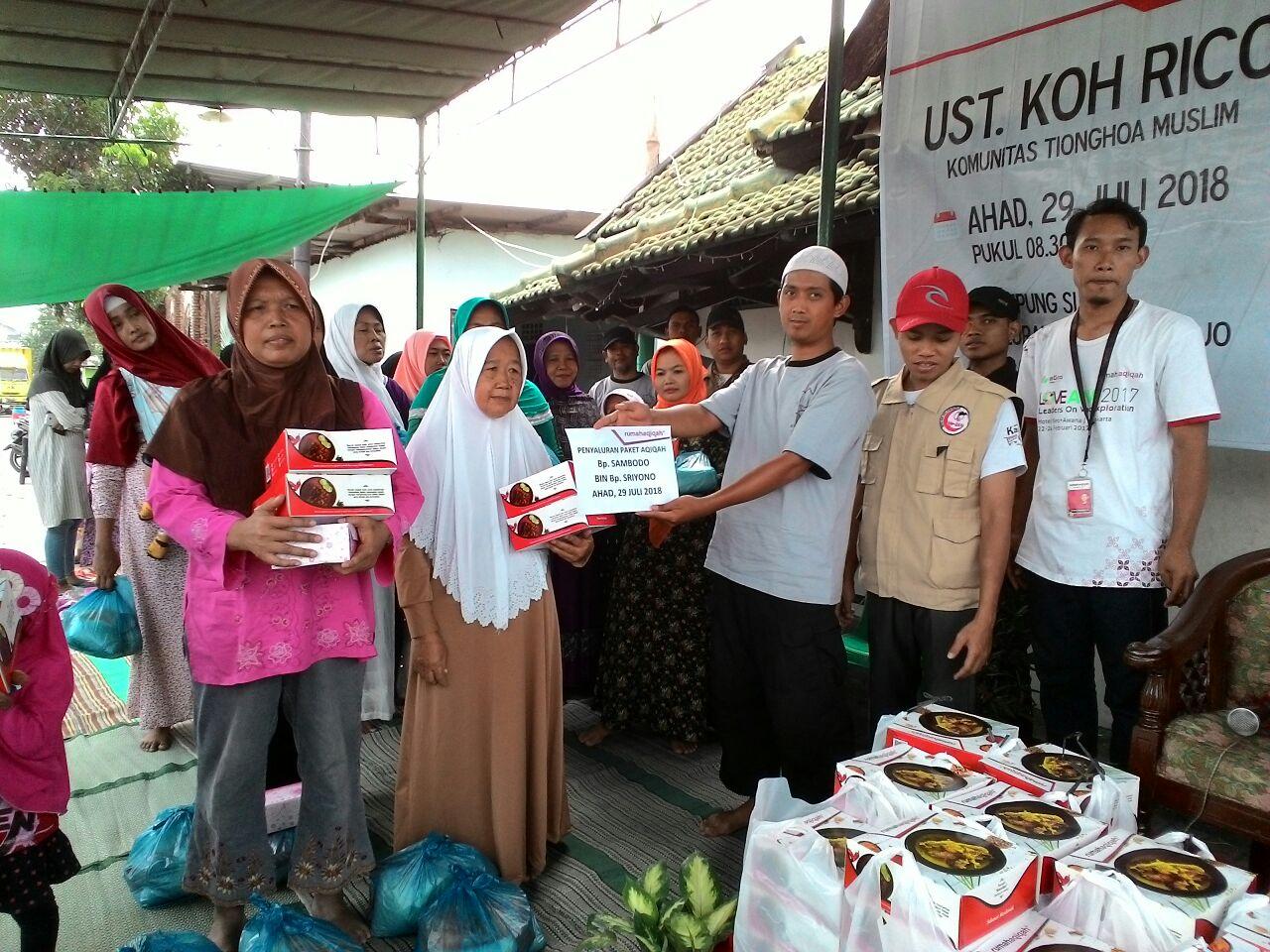 Komunitas Tionghoa dan Mualaf Center Semarang Gelar Baksos dan Tabligh Akbar