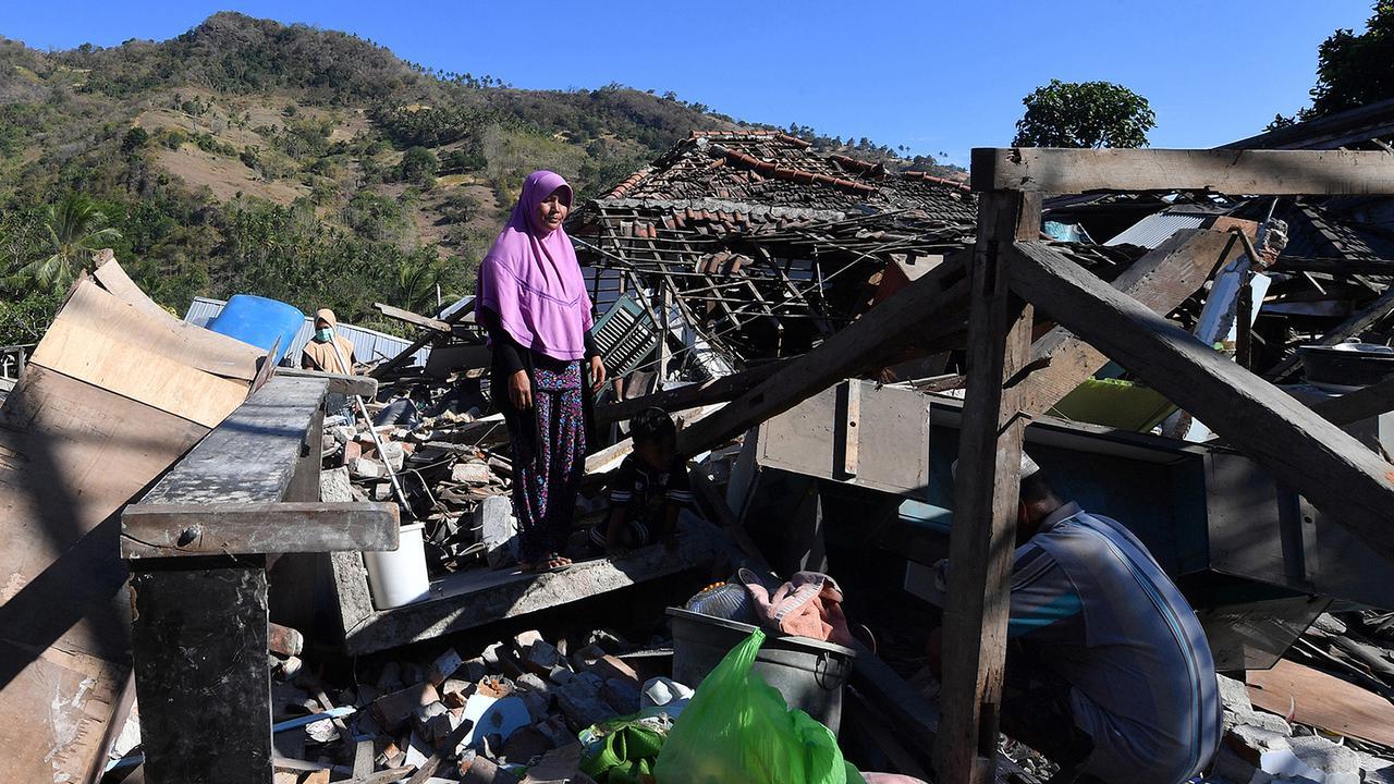 Begini Kondisi Pemukiman di Lombok Timur Pasca Gempa (Video)