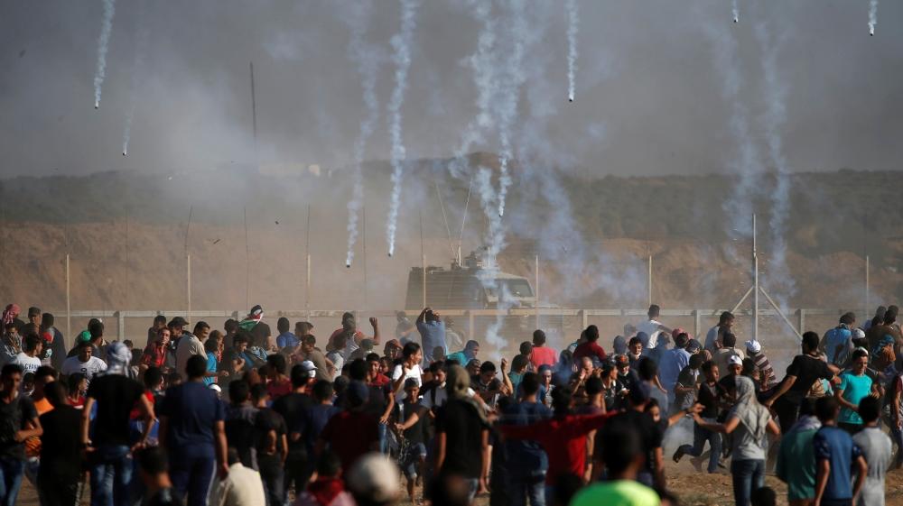 50 Warga Palestina Diterjang Peluru Tajam Zionis pada Aksi Jumat