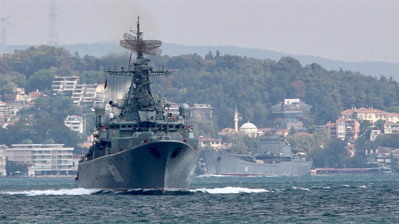 Akan Gelar Serangan Besar di Idlib, Rusia Kerahkan Lusinan Kapal Perang ke Mediterania