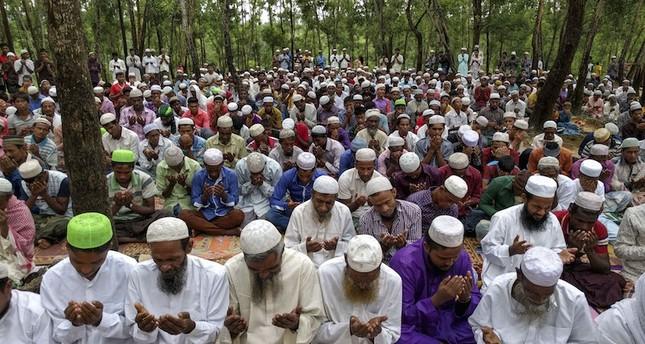 Hampir 1 Juta Muslim Rohingnya Rayakan Idul Adha di Kamp Pengungsi
