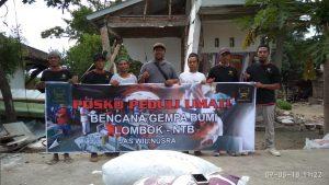 Ansharusy Syariah Buka Posko Tanggap Bencana di Lombok