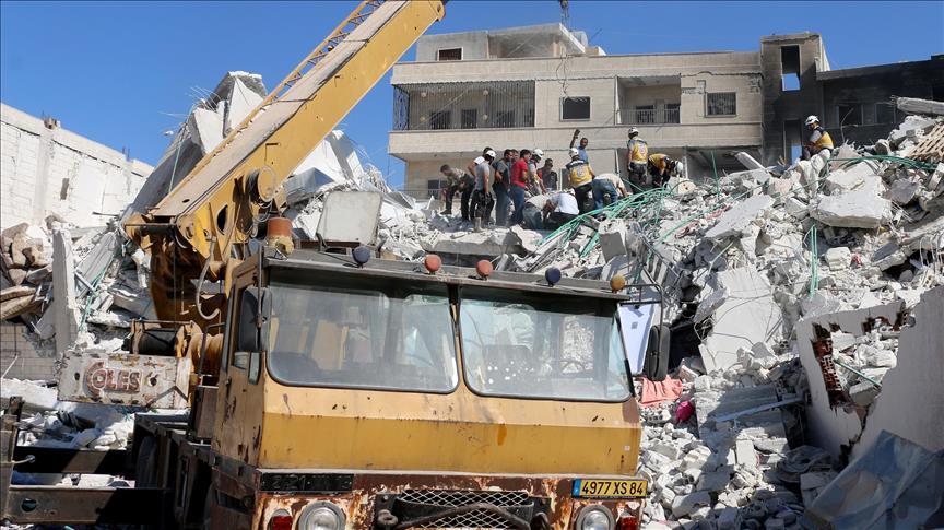 Korban Ledakan di Idlib Meningkat, 67 Orang Tewas