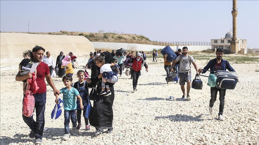 Hampir 295.000 Warga Suriah Sudah Kembali dari Turki