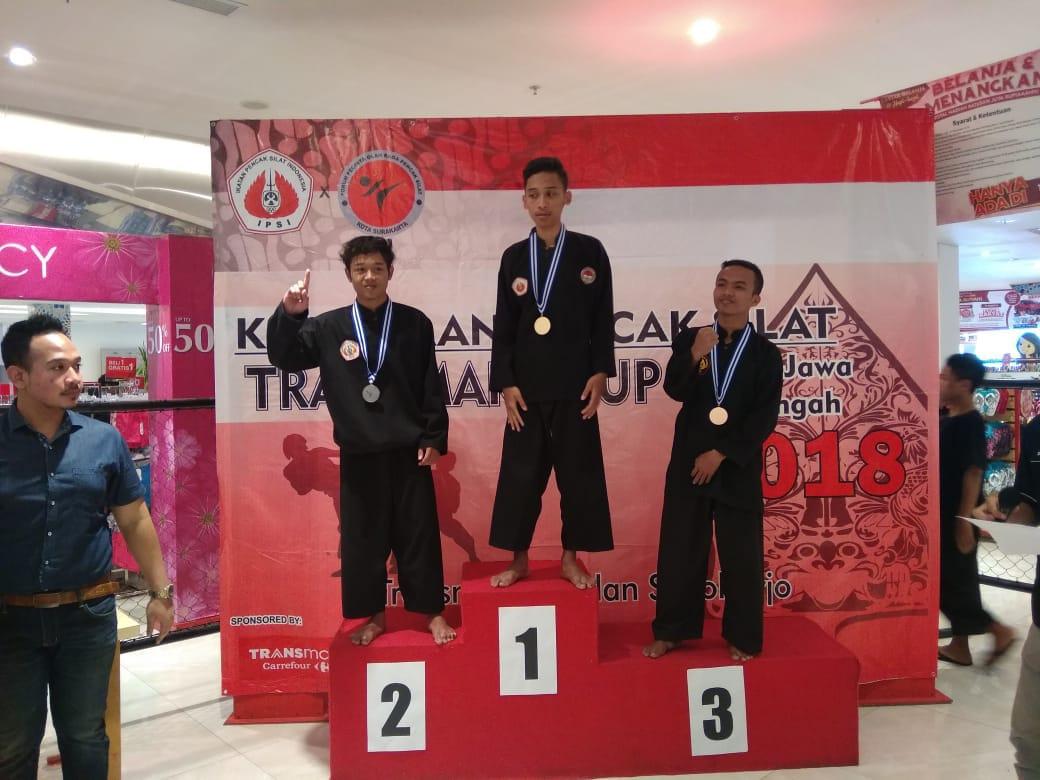 Perguruan Tapak Siaga Raih Penghargaan di Kejuaraan Transmart Cup Jateng