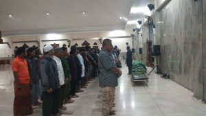 Jenazah Muhammad Irsan Dimakamkan di Polokarto Sukoharjo.