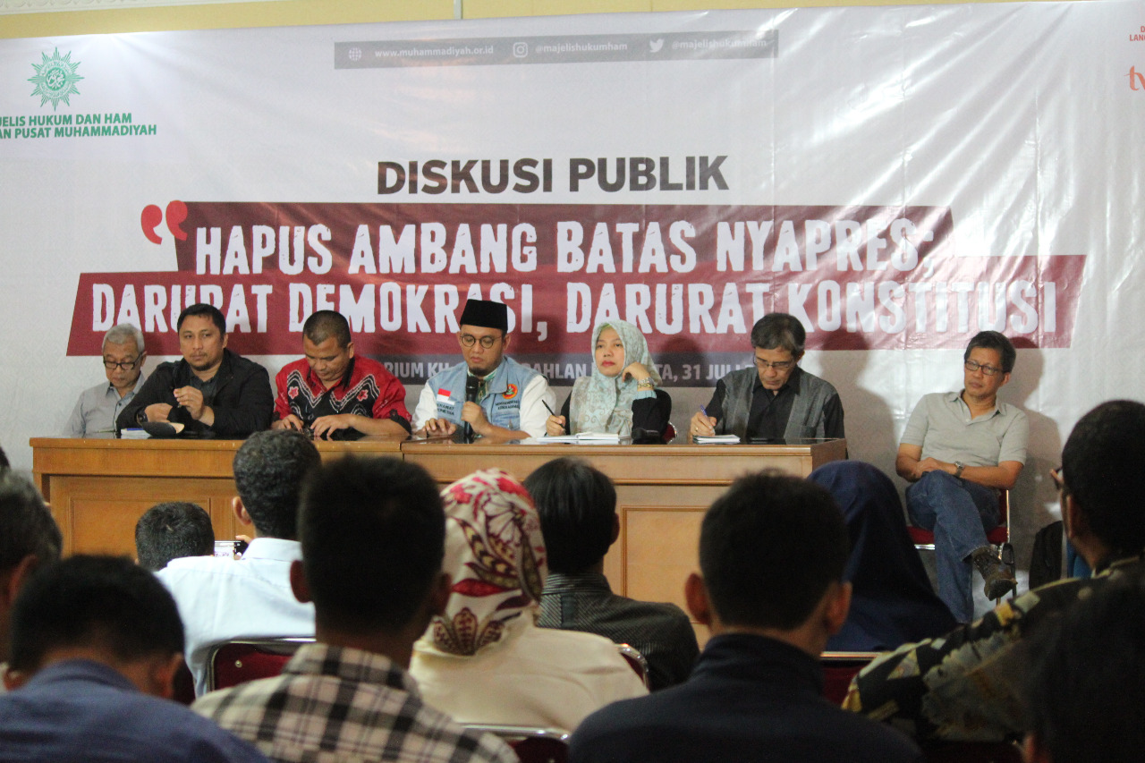 Busyro Muqoddas: Pasal 222 Mengandung Unsur Kapitalisasi Pemilu