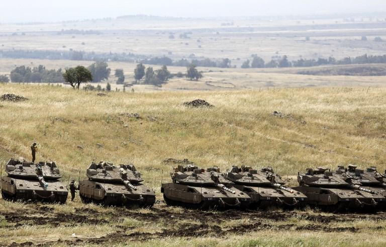 Koalisi Syiah Internasional yang Didukung Iran Mundur dari Perbatasan  Tinggi Golan