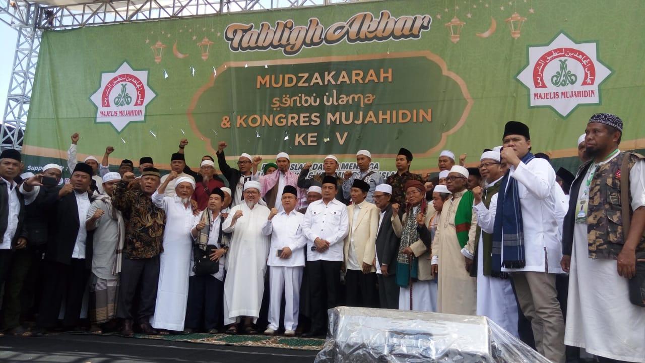 """Resmi Ditutup, Mudzakarah Seribu Ulama Hasilkan """"Manifesto Ulama dan Umat"""""""