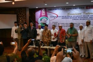 Habib Rizieq Sambut Baik Pembentukan HRS Center