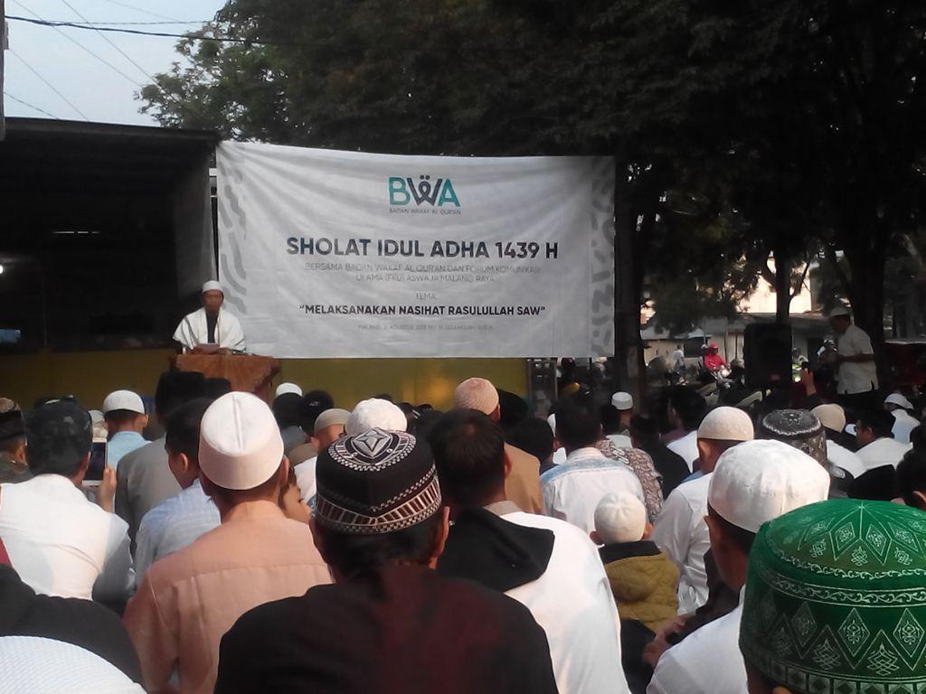 Masyarakat Diminta Shalat Idul Adha di Lingkungan Terdekat
