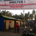 Forum Me-DAN Selesaikan Pembangunan Shelter Tahap 1 di Lombok Utara
