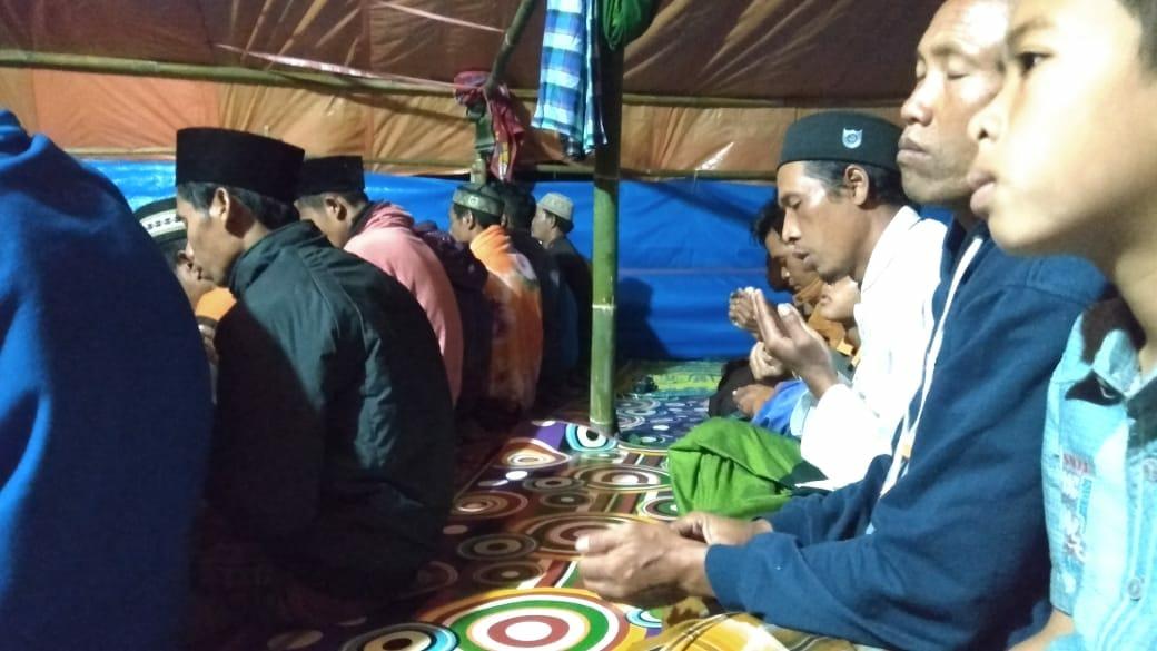 Pengungsi Lombok Harap Setiap Masjid Gelar Shalat Taubat